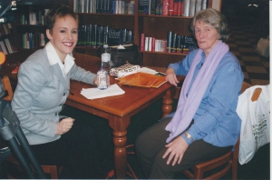 Di with Wendy Mesley