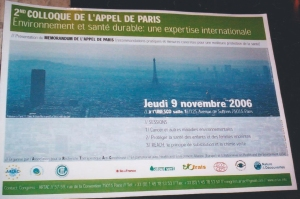 paris appeal poster