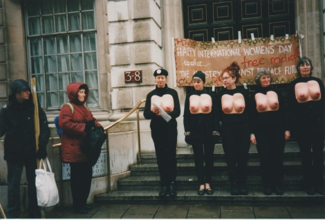 Protest outside DEFRA