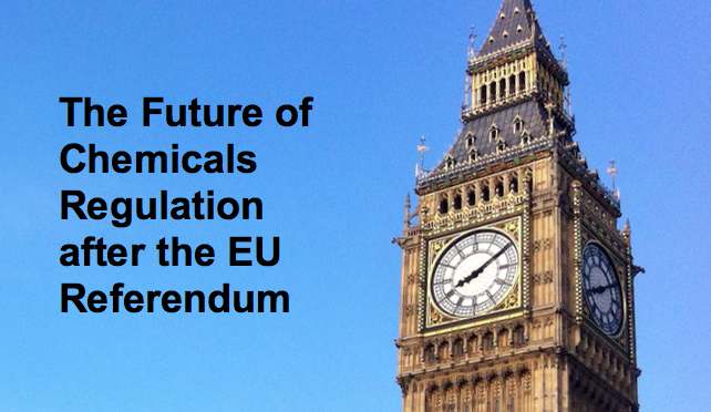 Vital Call: MPs want post-Brexit UK to keep to EU's main chemicals law REACH